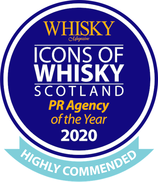 Icons of Whisky Scotland PR Agency of the Year 2020